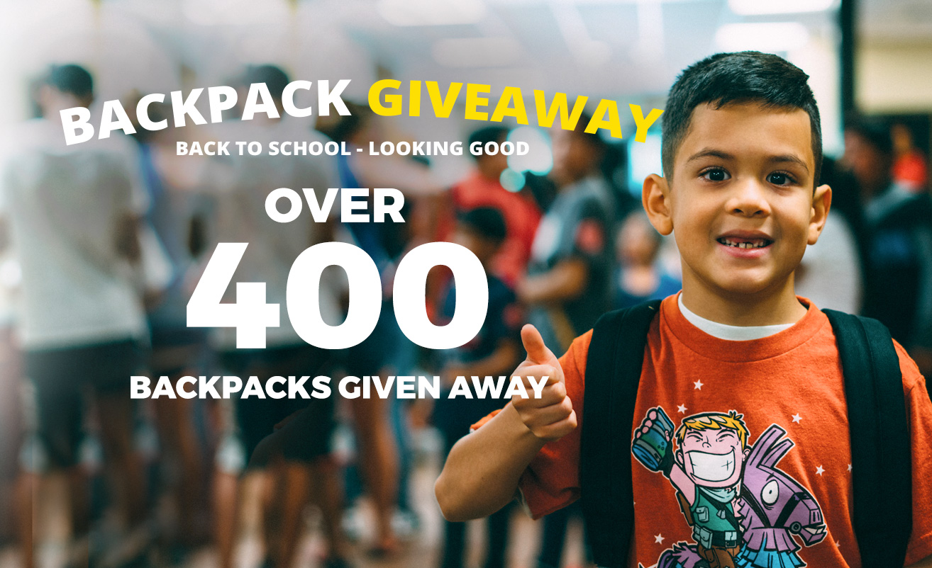 back to school backpack giveaway